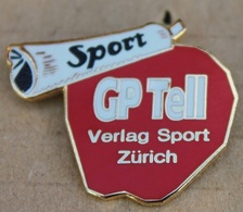 JOURNAL - ZEITUNG - NEWSPAPER - SPORT - POMME - APFEL - APPLE - GP TELL - CYCLISME - VELO - CYCLISTE  - SUISSE   - (21) - Mass Media