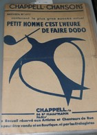 Recueil N°11 De Chapell-chansons - Scores & Partitions