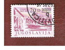 JUGOSLAVIA (YUGOSLAVIA)   - SG 2190  -    1984  TOURISM OVERPRINTED  -  USED - 1945-1992 Repubblica Socialista Federale Di Jugoslavia