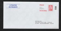 PAP - Neuf ** - N° Au Dos: 204727 - ROTHELEC - Repiquage Marianne L'Engagée - Scannes Face & Dos - Entiers Postaux