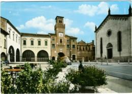 ODERZO  TREVISO  Duomo E Torre Civica  Banca Popolare  Camion Delle Bibite  Coca-Cola - Treviso