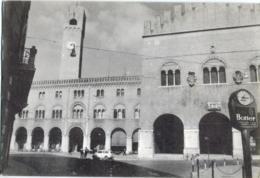 TREVISO  Piazza Dei Signori  Cartolina Ricordo Del XIV Raduno Nazionale Artiglieri  Orologio Enicar Pubbl. Botter - Treviso