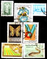 Siria-00119 - Valori Del 1976-79 (o) Used - Senza Difetti Occulti. - Siria