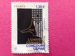 2017, CONCOURS LÉPINE OBLITÉRATION RONDE. - France