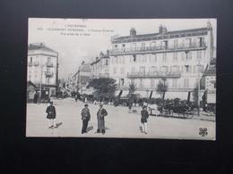 CLERMONT-FERRAND  L'Avenue Charras  1912 Animée - Clermont Ferrand
