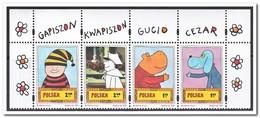 Polen 2011, Postfris MNH, Gapiszon, Kwapiszon, Gucio And Cezar - 1944-.... Republiek