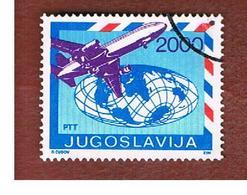 JUGOSLAVIA (YUGOSLAVIA)   - SG 2475 -    1988  AIRPLANES: MC DONNEL DOUGLAS DC 10   -  USED - 1945-1992 Repubblica Socialista Federale Di Jugoslavia