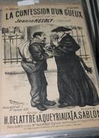 """Partition De """" La Confession D'un Gueux"""" - Partitions Musicales Anciennes"""