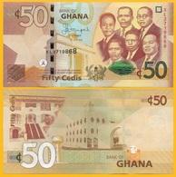 Ghana 50 Cedis P-42c 2015 UNC Banknote - Ghana