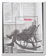Polen 2011, Postfris MNH, 100th Birthday Of Czeslaw Milosz - 1944-.... Republiek