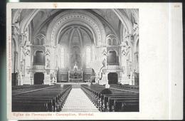 CPA Canada Montréal - Eglise De L'Immaculée Conception - Non Circulée - Montreal