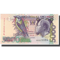 Billet, Saint Thomas And Prince, 5000 Dobras, 1996, 1996-10-22, KM:65b, NEUF - Sao Tomé Et Principe