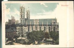 CPA Canada Montréal - Eglise De Notre Dame - Non Circulée - Montreal