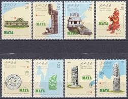 Westsahara Sahara OCC 1992 Geschichte History Entdeckungen Discovery Kolumbus Columbus Maya Bauwerke, Mi. --- ** - Briefmarken