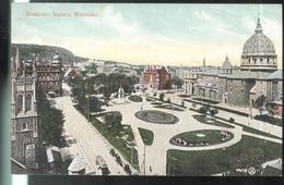 CPA Canada Montréal - Dominion Square - Non Circulée - Montreal