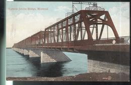 CPA Canada Montréal - Victoria Jubilée Bridge - Non Circulée - Montreal