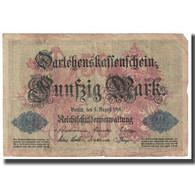 Billet, Allemagne, 50 Mark, 1914, 1914-08-05, KM:49a, TB - [ 2] 1871-1918 : Duitse Rijk