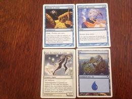 Magic The Gathering Lot De 4 Cartes Francaises. - Autres Collections