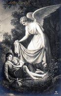LOT DE 4 CARTES - Ange Gardien, Ange Musicien, Ange Pleureur, Anges Dans Un Coeur - Anges