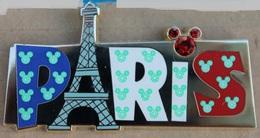 WALT DISNEY -  DISNEYLAND PARIS - TETE DE MICKEY - TOUR EIFFEL - FRANCE  -       (21) - Disney