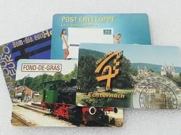 Luxemmbourg Lot De 4 Cartes Téléphonique Utilisées - Luxembourg
