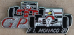 VOITURE - FORMULE 1 - F1 - G.O. MONACO 91 - MAC CLAREN - FERRARI - CAR -        (21) - Car Racing - F1