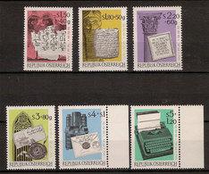 """(Fb).Austria.1965.""""Wipa65"""".Serie Completa 6 Val Nuovi,gomma Integra,MNH (20-19) - 1945-.... 2ème République"""