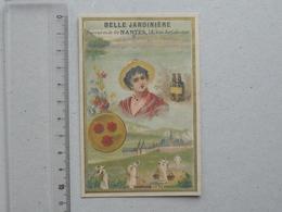 CHROMO BELLE JARDINIERE Succursale De NANTES: DAUPHINE La Grande Chartreuse Moine Boisson Fleur Tenue Folklorique - Other