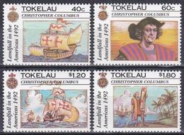 Tokelau 1992 Geschichte History Entdeckungen Discovery Kolumbus Columbus Schiffe Ships Nina Pinta, Mi. 188-1 ** - Tokelau