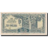 Billet, MALAYA, 10 Dollars, Undated (1944), KM:M7c, TTB+ - Philippinen