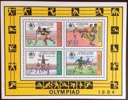 Tanzania 1984 Olympics Winners Minisheet MNH - Tanzania (1964-...)