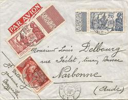 AEF Congo 1939 Brazzaville World EXPO New York Explorer Savorgnan De Brazza Gendarme Cover - Brieven En Documenten