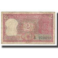 Billet, Inde, 2 Rupees, KM:52, TB - Inde