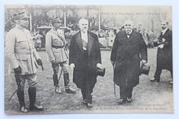 Le Président Du Conseil Clemenceau, Le Marechal Petain Et Le President De La Republique Poincaré A Metz, 8 Dec. 1918 - Characters