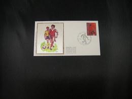 """BELG.1981 2014 FDC Soie/zijde (Hermalle) : """" 100 Jaar Voetbal In Belg./Centenaire Du Premier Club De Football En Belg. """" - 1981-90"""