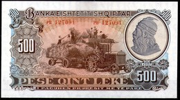 Albania,1957,500 Leke,P.31,UNC,as Scan - Albania
