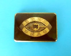 EDEL SHAG - Tabakfabriken Hamburg ( Germany ) - Vintage Tin Box * Tobacco Tabak Tabac * Larger Size - Tabaksdozen (leeg)