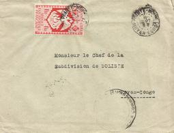 AEF Congo 1944 Pointe Noire Phoenix Censored Domestic Cover To Dolisie - Brieven En Documenten