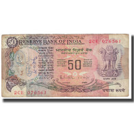 Billet, Inde, 50 Rupees, KM:83a, TB - India