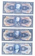 Brazil 10 Note Set 1943 COPY - Brésil