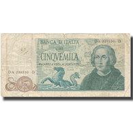Billet, Italie, 5000 Lire, 1971, 1971-05-20, KM:102b, B+ - 5000 Lire