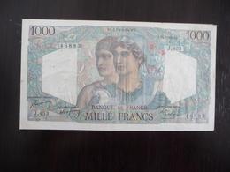 FRANCE *   MINERVE ET HERCULE -  1000  Francs   J  15.7.1948  -  46893 - 1871-1952 Circulated During XXth