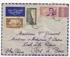 SENEGAL - Belle Enveloppe Affr. Composé Dont 2F René Caillié -  Dakar Sénégal 1939 - Sénégal (1887-1944)