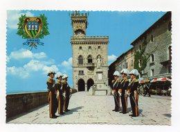 San Marino - Palazzo Del Governo E Guardia Nobile - Non Viaggiata - (FDC15334) - San Marino