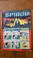 SPIROU N°1215 DE 07/1961  PARFAIT ETAT - Spirou Magazine