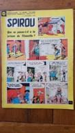 SPIROU N°1169 DE 09/1960  PARFAIT ETAT - Spirou Magazine