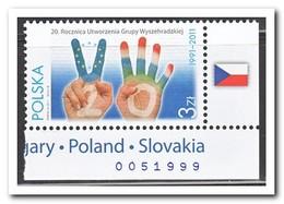 Polen 2011, Postfris MNH, 20 Years Visegrad Group - 1944-.... Republiek