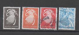 Nouvelle-Calédonie SC879/915/916/917  2001/2003 - Usados