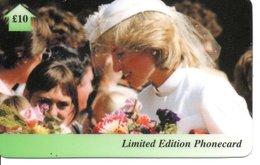 Princesse DIANA Princess Lady Di Angleterre Carte Prépayée (G 123) - Personnages