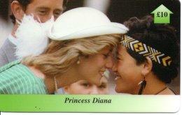 Princesse DIANA Princess Lady Di Angleterre Carte Prépayée (G 124) - Personnages